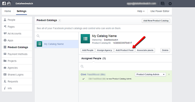 Facebook-Dynamic-Product-Ad-Admin