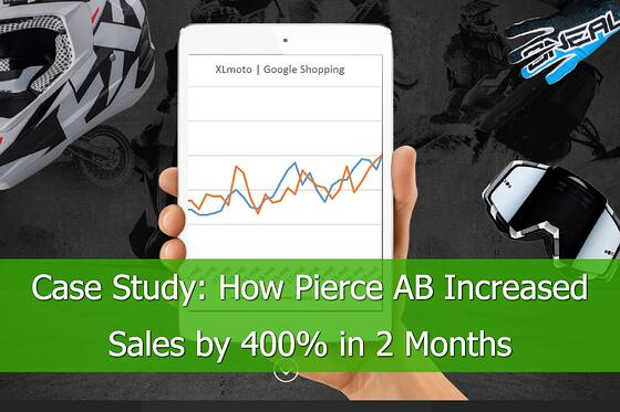 Case Study: How Pierce AB Increased Sales 400% in 2 Months